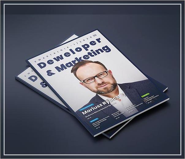 """Współpraca z kwartalnikiem """"Deweloper&Marketing"""""""