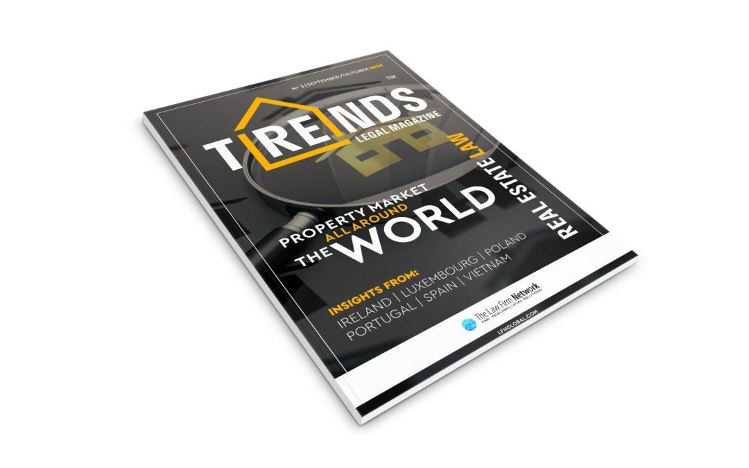 """Trzecie wydanie magazynu nieruchomościowego """"TRENDS Legal Magazine"""""""